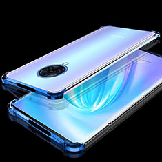 Ultra-thin Transparent TPU Soft Case Cover H02 for Vivo Nex 3 Blue