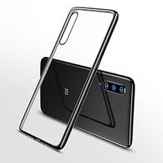 Ultra-thin Transparent TPU Soft Case Cover H02 for Xiaomi Mi 9 Black