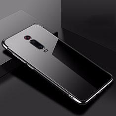 Ultra-thin Transparent TPU Soft Case Cover H02 for Xiaomi Mi 9T Black