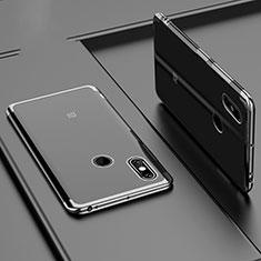 Ultra-thin Transparent TPU Soft Case Cover H02 for Xiaomi Mi Max 3 Black