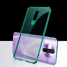 Ultra-thin Transparent TPU Soft Case Cover H02 for Xiaomi Redmi K30 5G Green