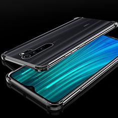 Ultra-thin Transparent TPU Soft Case Cover H02 for Xiaomi Redmi Note 8 Pro Black