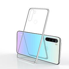 Ultra-thin Transparent TPU Soft Case Cover H02 for Xiaomi Redmi Note 8 Silver