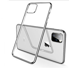 Ultra-thin Transparent TPU Soft Case Cover H03 for Apple iPhone 11 Pro Max Silver
