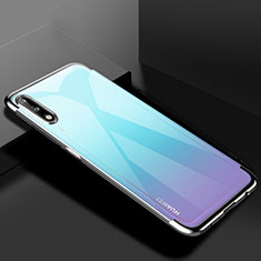 Ultra-thin Transparent TPU Soft Case Cover H03 for Huawei Enjoy 10 Silver