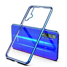 Ultra-thin Transparent TPU Soft Case Cover H03 for Huawei Honor 20 Blue