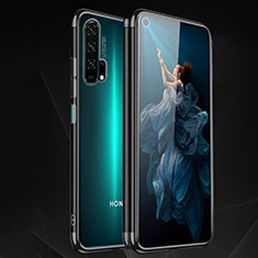 Ultra-thin Transparent TPU Soft Case Cover H03 for Huawei Honor 20 Pro Black