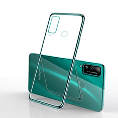 Ultra-thin Transparent TPU Soft Case Cover H03 for Huawei Honor Play4T Green