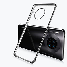 Ultra-thin Transparent TPU Soft Case Cover H03 for Huawei Mate 30 Pro 5G Black