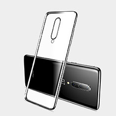 Ultra-thin Transparent TPU Soft Case Cover H03 for OnePlus 7 Pro Black