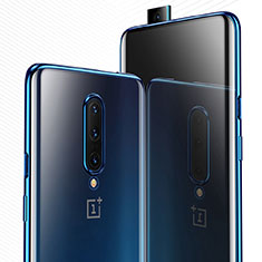 Ultra-thin Transparent TPU Soft Case Cover H03 for OnePlus 7 Pro Blue