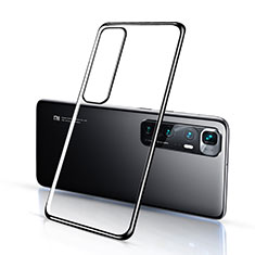 Ultra-thin Transparent TPU Soft Case Cover H03 for Xiaomi Mi 10 Ultra Black