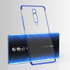 Ultra-thin Transparent TPU Soft Case Cover H03 for Xiaomi Mi 9T Blue