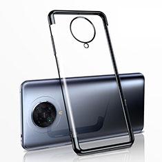 Ultra-thin Transparent TPU Soft Case Cover H03 for Xiaomi Redmi K30 Pro 5G Black
