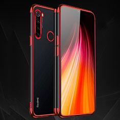 Ultra-thin Transparent TPU Soft Case Cover H03 for Xiaomi Redmi Note 8 Red