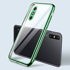 Ultra-thin Transparent TPU Soft Case Cover H04 for Huawei Enjoy 10e Green