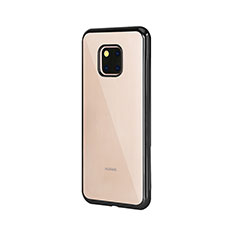 Ultra-thin Transparent TPU Soft Case Cover H04 for Huawei Mate 20 Pro Black