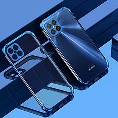 Ultra-thin Transparent TPU Soft Case Cover H04 for Huawei Nova 8 SE 5G Blue
