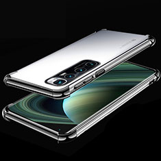 Ultra-thin Transparent TPU Soft Case Cover H04 for Xiaomi Mi 10 Ultra Black
