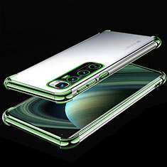 Ultra-thin Transparent TPU Soft Case Cover H04 for Xiaomi Mi 10 Ultra Green