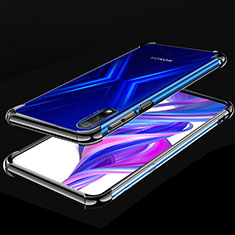Ultra-thin Transparent TPU Soft Case Cover H05 for Huawei Honor 9X Black