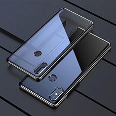 Ultra-thin Transparent TPU Soft Case Cover H05 for Xiaomi Mi Mix 3 Black