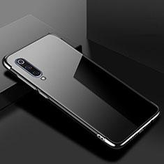 Ultra-thin Transparent TPU Soft Case Cover H08 for Xiaomi Mi 9 Pro 5G Black