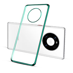 Ultra-thin Transparent TPU Soft Case Cover S01 for Huawei Mate 40 Pro Green