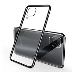 Ultra-thin Transparent TPU Soft Case Cover S02 for Huawei Nova 6 SE Black
