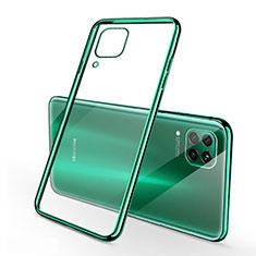 Ultra-thin Transparent TPU Soft Case Cover S02 for Huawei Nova 7i Green