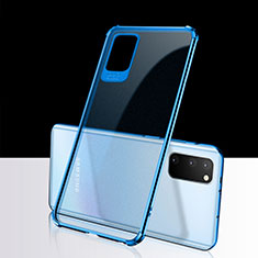 Ultra-thin Transparent TPU Soft Case Cover S02 for Samsung Galaxy S20 5G Blue