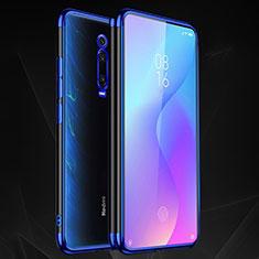 Ultra-thin Transparent TPU Soft Case Cover S02 for Xiaomi Mi 9T Pro Blue