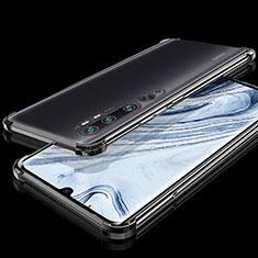 Ultra-thin Transparent TPU Soft Case Cover S02 for Xiaomi Mi Note 10 Black
