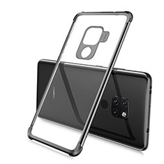 Ultra-thin Transparent TPU Soft Case Cover S03 for Huawei Mate 20 Black