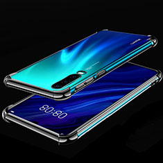 Ultra-thin Transparent TPU Soft Case Cover S03 for Huawei P30 Black