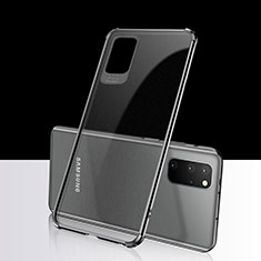 Ultra-thin Transparent TPU Soft Case Cover S03 for Samsung Galaxy S20 Plus 5G Black