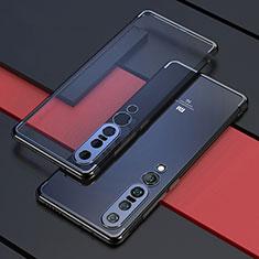 Ultra-thin Transparent TPU Soft Case Cover S03 for Xiaomi Mi 10 Pro Black