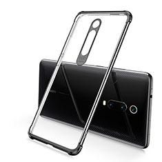 Ultra-thin Transparent TPU Soft Case Cover S03 for Xiaomi Mi 9T Pro Black
