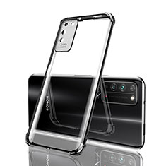 Ultra-thin Transparent TPU Soft Case Cover S04 for Huawei Honor X10 5G Black