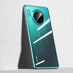 Ultra-thin Transparent TPU Soft Case Cover S04 for Huawei Mate 30 Green
