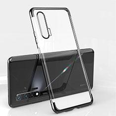 Ultra-thin Transparent TPU Soft Case Cover S04 for Huawei Nova 6 5G Black