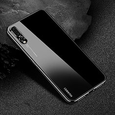 Ultra-thin Transparent TPU Soft Case Cover S04 for Huawei P20 Pro Black