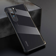 Ultra-thin Transparent TPU Soft Case Cover S04 for Huawei P30 Pro Black
