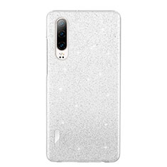 Ultra-thin Transparent TPU Soft Case Cover S05 for Huawei P30 White