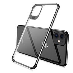Ultra-thin Transparent TPU Soft Case Cover S06 for Apple iPhone 11 Pro Black
