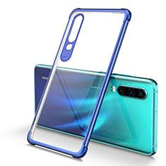 Ultra-thin Transparent TPU Soft Case Cover U01 for Huawei P30 Blue