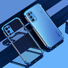 Ultra-thin Transparent TPU Soft Case Cover Z01 for Oppo Reno5 5G Blue