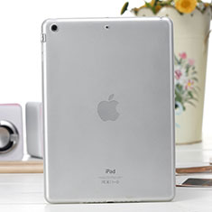 Ultra-thin Transparent TPU Soft Case for Apple iPad Air White