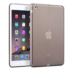 Ultra-thin Transparent TPU Soft Case for Apple iPad Mini 2 Gray