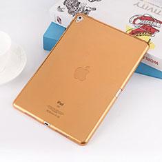 Ultra-thin Transparent TPU Soft Case for Apple iPad Pro 9.7 Gold